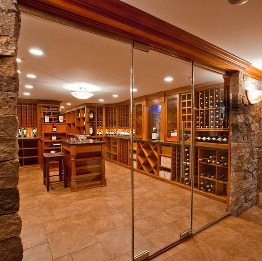 A custom Kessick wine cellar from Charles River Wine Cellars Boston & A custom Kessick wine cellar from Charles River Wine Cellars Boston ...