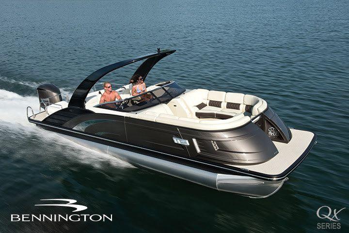 All New Bennington Qx Series Hawkeye Boat Sales Pontoon