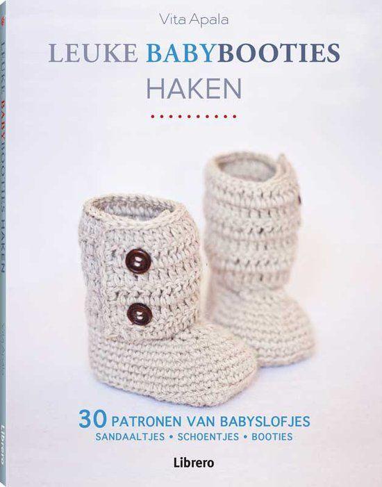 Leuke Babybooties Haken Haak Boeken Crochet Crochet Books En