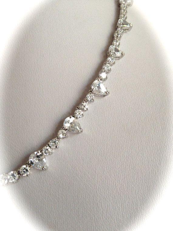 Vintage Sterling Silver Pear Eternity Estate by WOWTHATSBEAUTIFUL