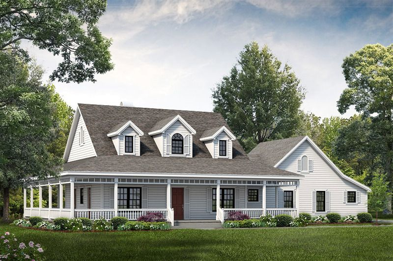 Farmhouse Style House Plan 3 Beds 2.5 Baths 2090 Sq/Ft