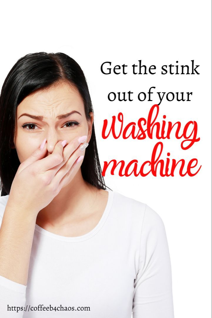 Get smells out of your washer washing machine cleaning