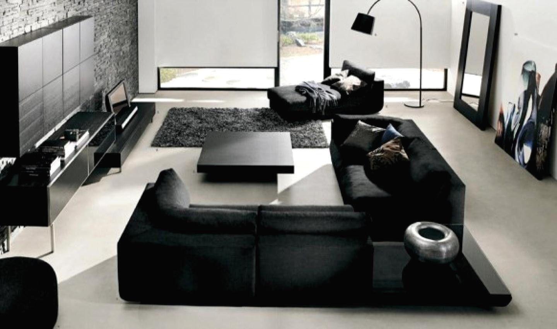 Ultra Modern Living Room | Black, white living room ...