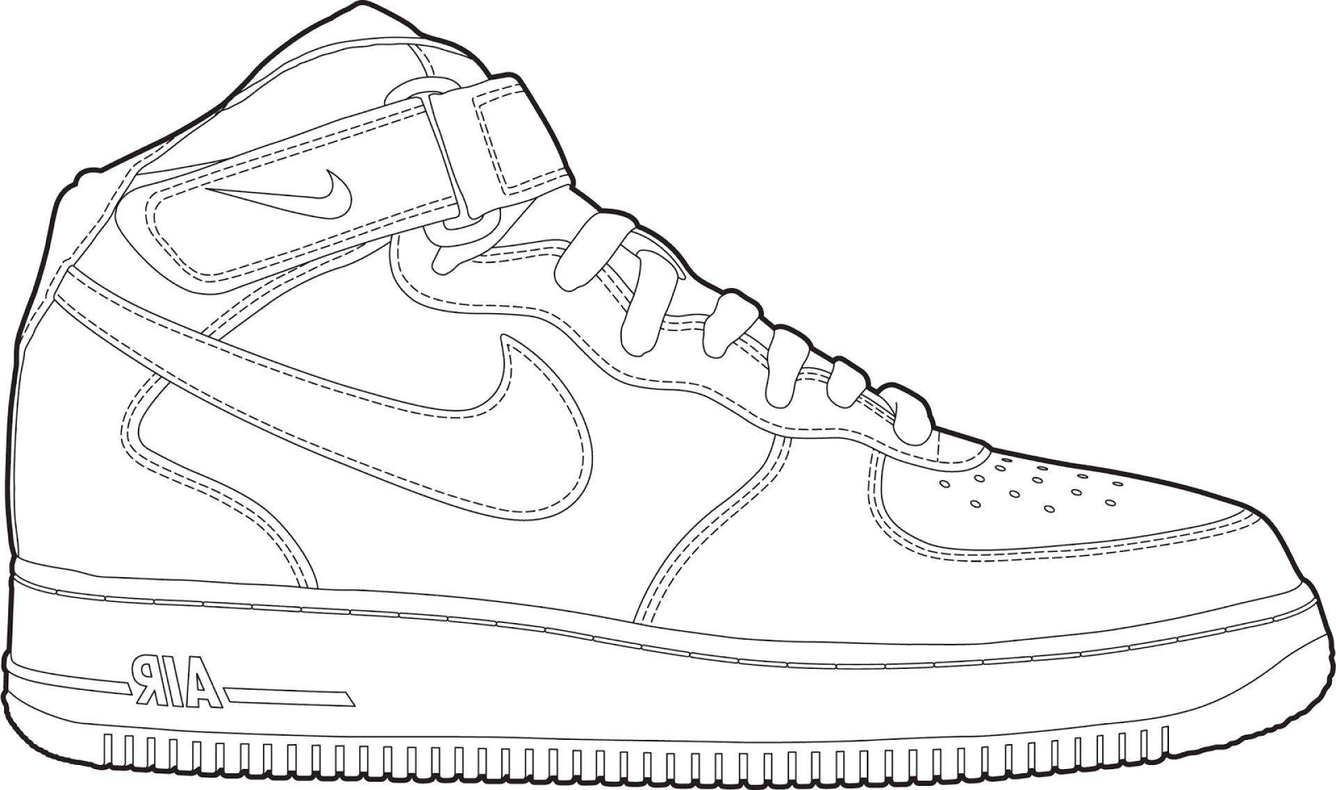 30 Jordan Shoe Coloring Book Carolinaaac Net Di 2020 Sepatu Kets Sepatu