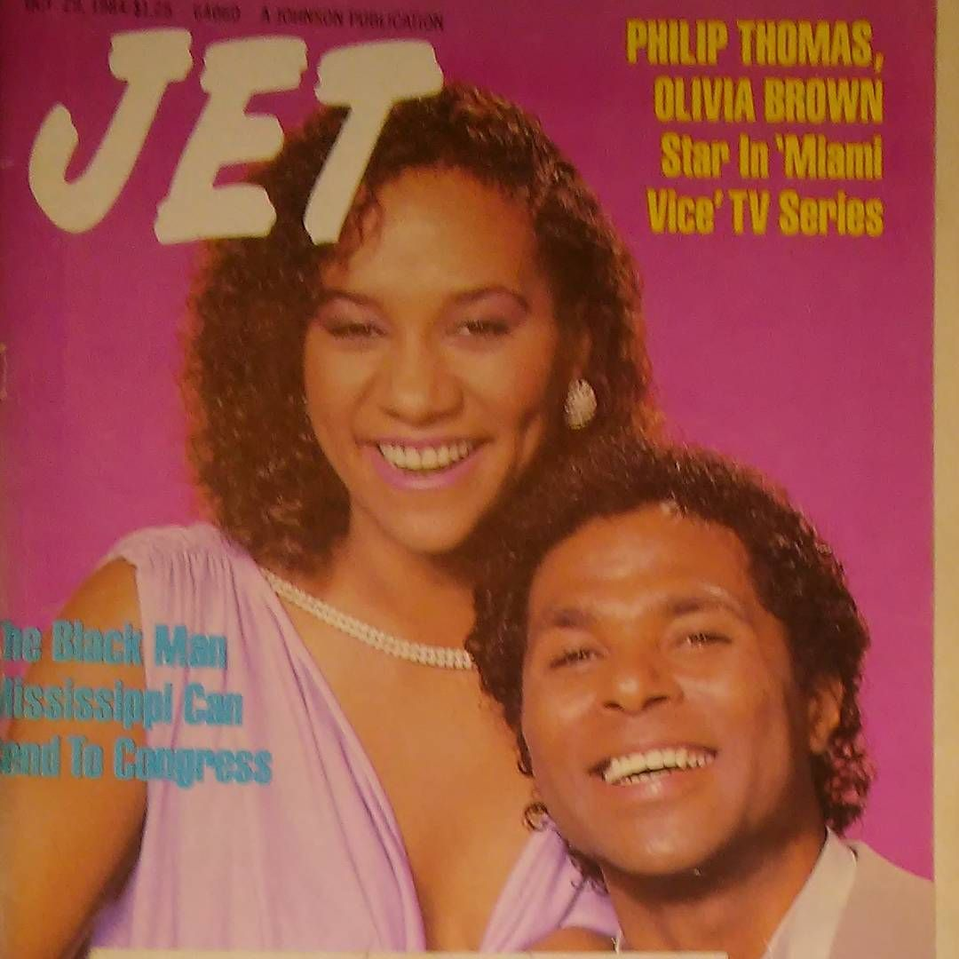 #oliviabrown #philipthomas #jetmagazine #1984 #actor #musician #miamivice #sparkle #advertisement #psychic #cellphone #hollywood #entertainment #television #voiceactor #grandtheftauto #lancevance #vicecity #gamer