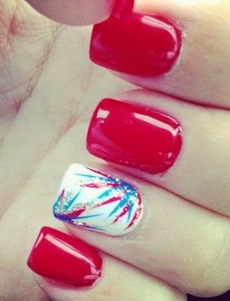fourth of july manicures to try from pinterest pinterest summer