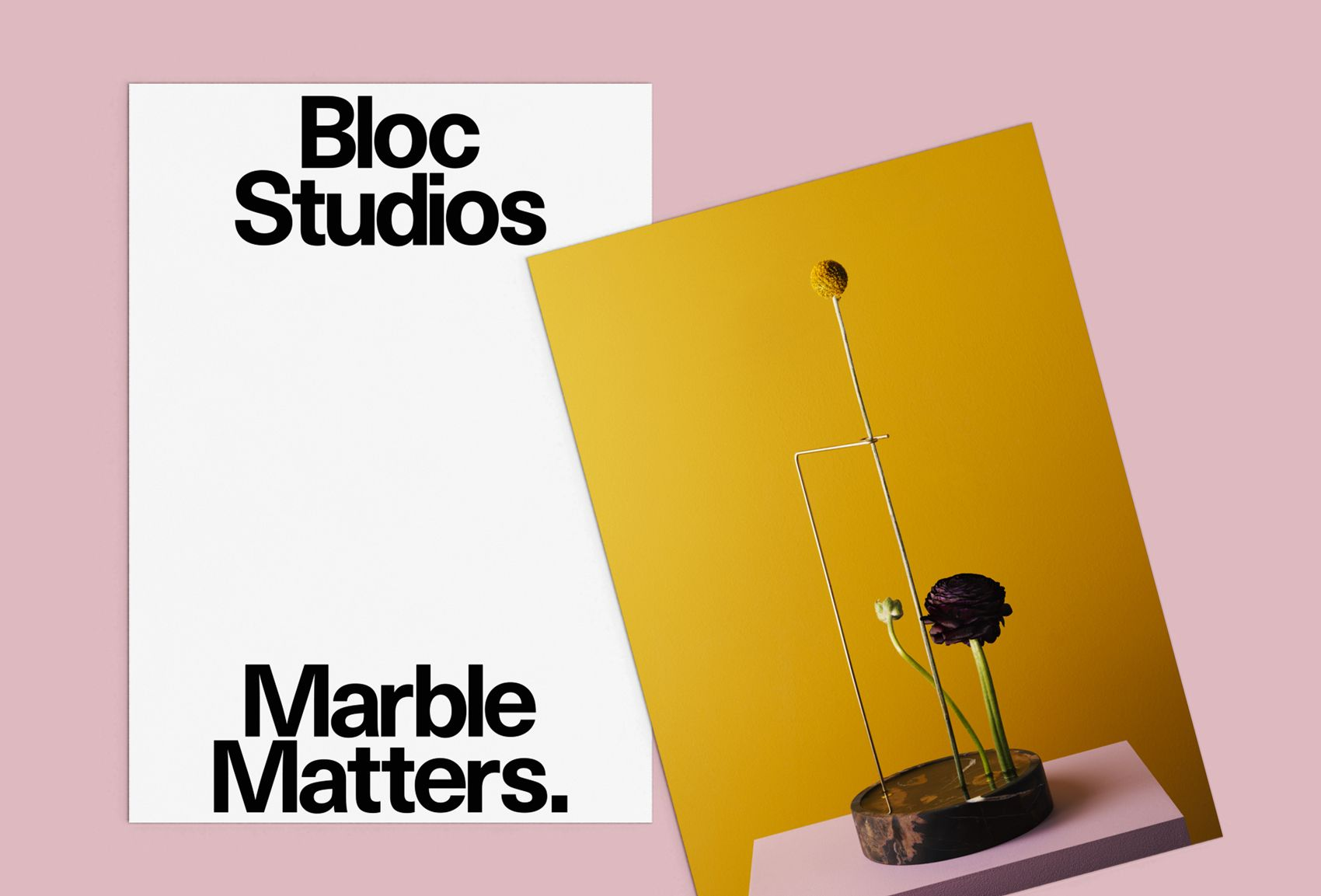 Picture of 2 designed by Studio Flat for the project Bloc Studios. Published on the Visual Journal in date 2 May 2017