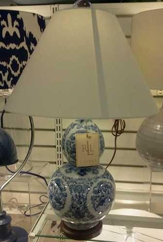 New Lauren By Ralph Lauren Blue And White Porcelain Koi