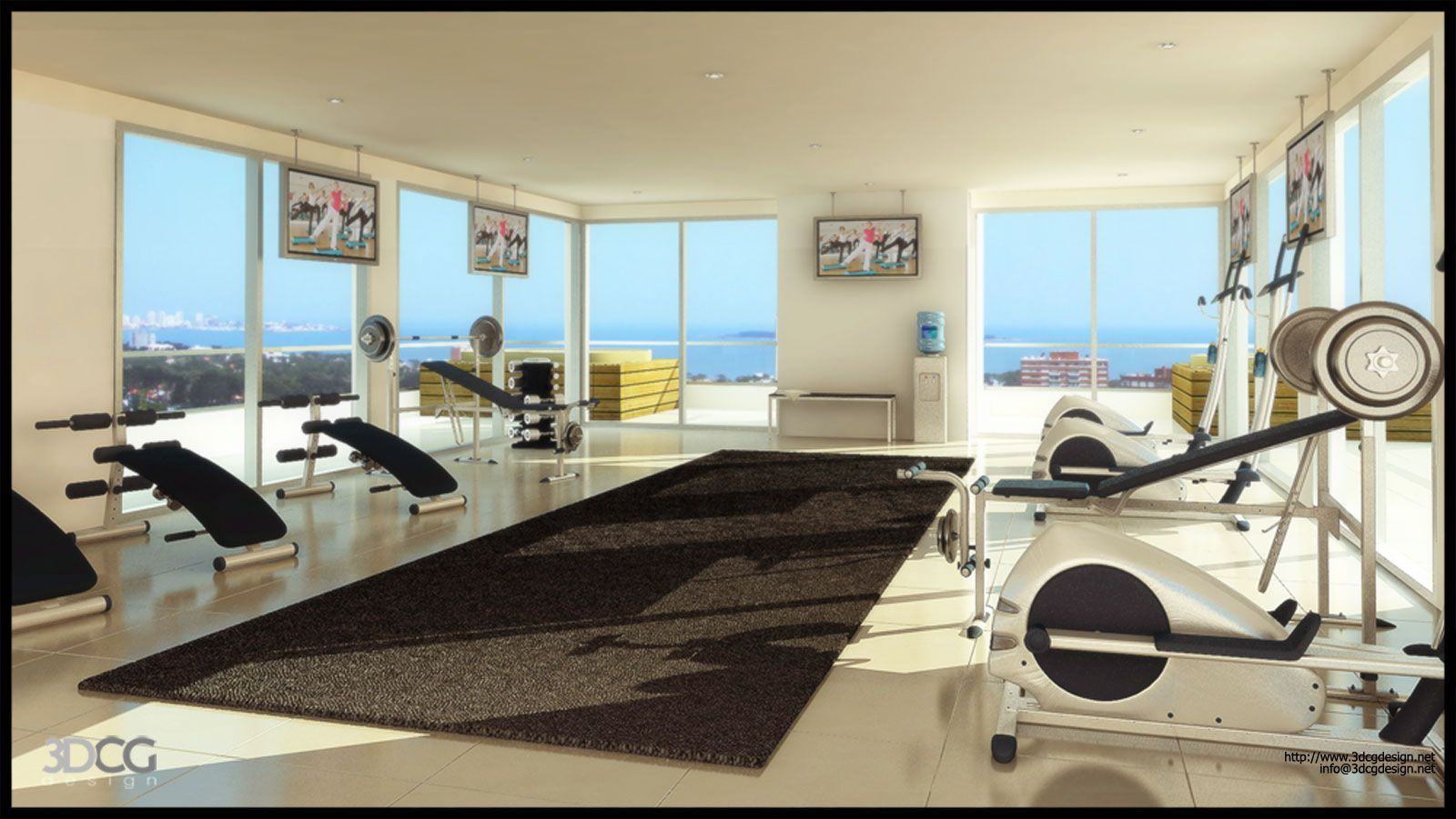 Beautiful Today Post Will Explain About Cool Home Gym In Loft Design Ideas With  Resolution 870x490 And Great Ideas