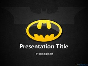 Free Batman PPT Template | Projects to Try | Ppt template