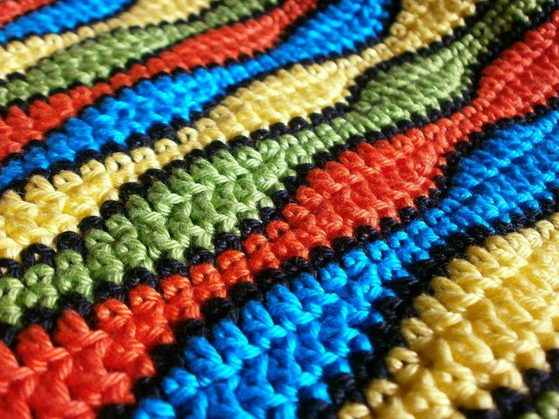 Wellenmuster Häkeln Häkelb Pinterest Crochet Knitting Und Diy