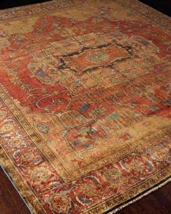 Tribute Medallion Rug By Exquisite Rugs At Horchow