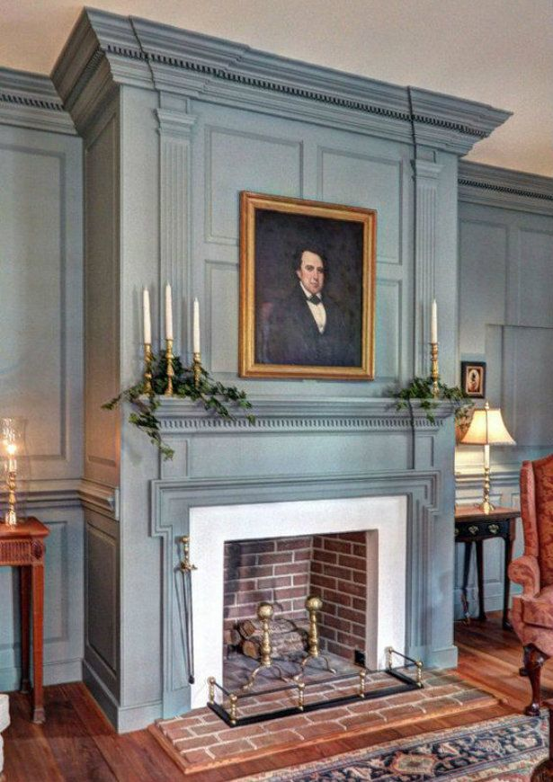 American Colonial Living Rooms