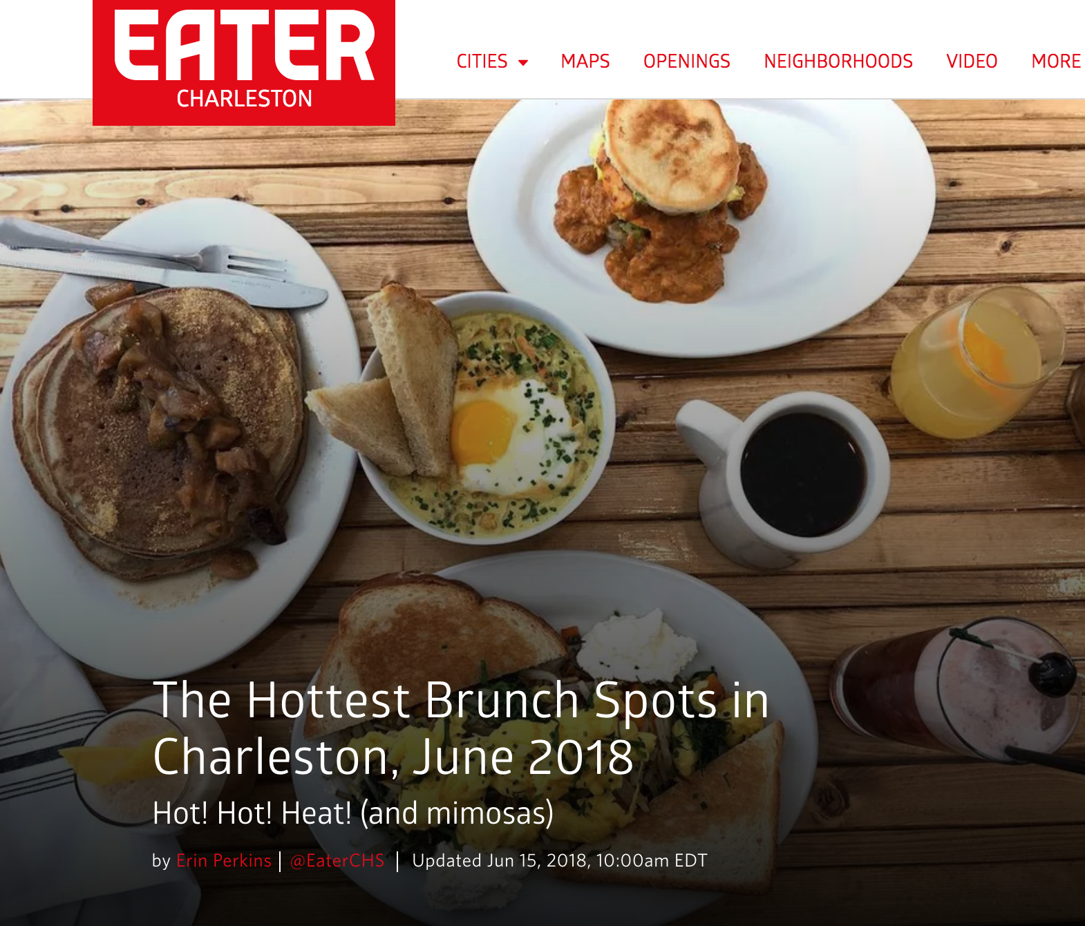 The Hottest Brunch Spots In Charleston, February 2020