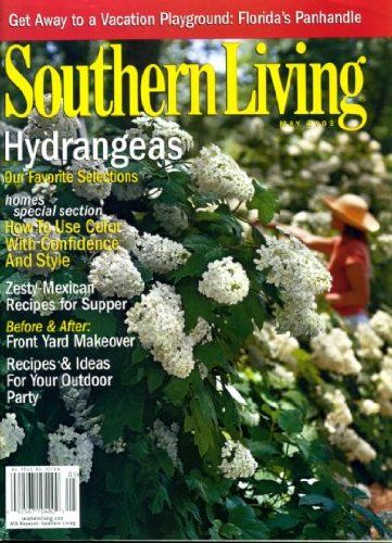 Southern Living May 2003 Hydranges on Cover Zesty Mexican ...