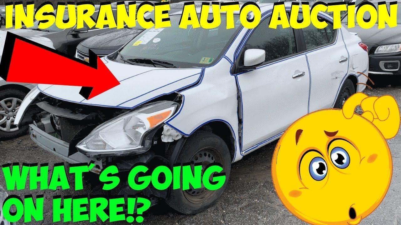 Insurance Auto Auction Walk Around Carnage With Images