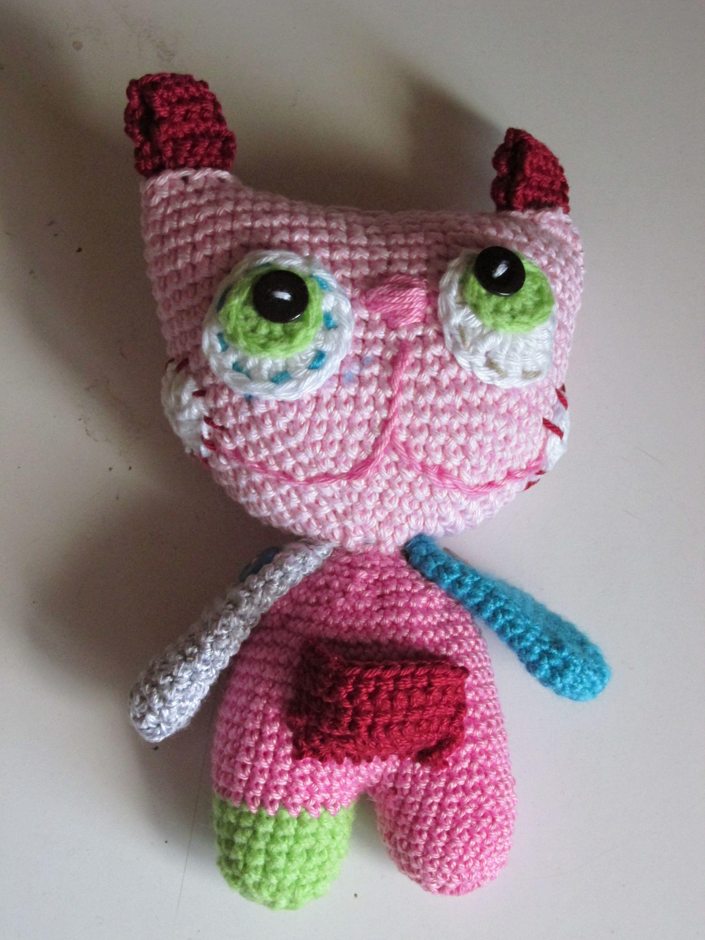 Hračka mačka   Zepire   Handmade na prodej