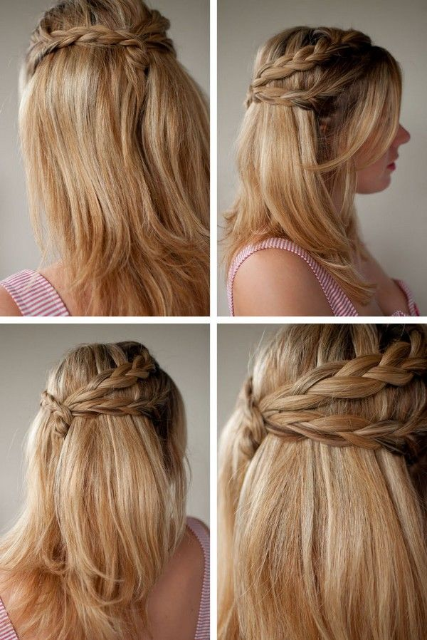 Prom Hairstyles For Long Hair Step By Step Prom Pinterest Hair