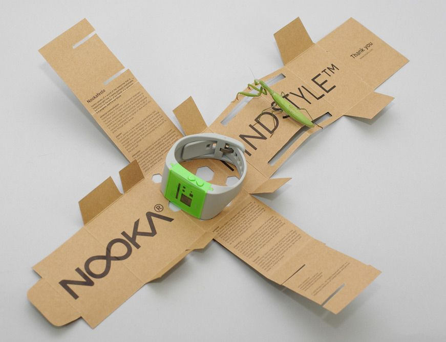 Nooka Glue Less Custom Box Eco Friendly And Biodegradable