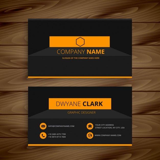 Download Modern Dark Business Card Template For Free Modern Business Cards Business Card Template Custom Business Cards