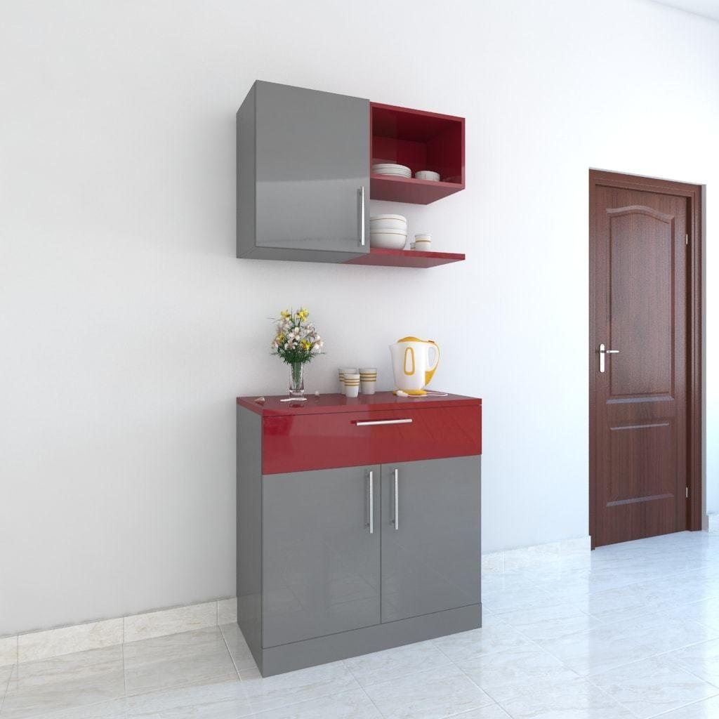 Crockery Cabinet | Crockery unit design, Wardrobe design ...