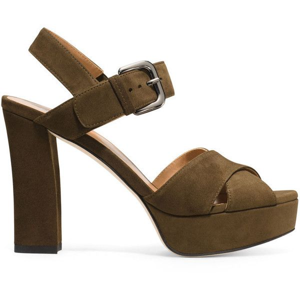 75f1edde782d Stuart Weitzman EXHALE SANDAL ( 525) ❤ liked on Polyvore featuring shoes