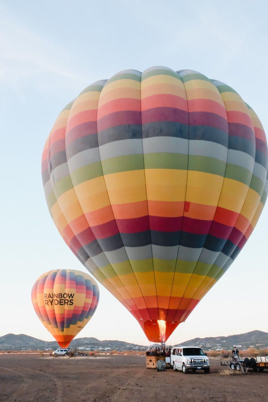 Phoenix Travel Guide Hot air balloon, Air balloon rides