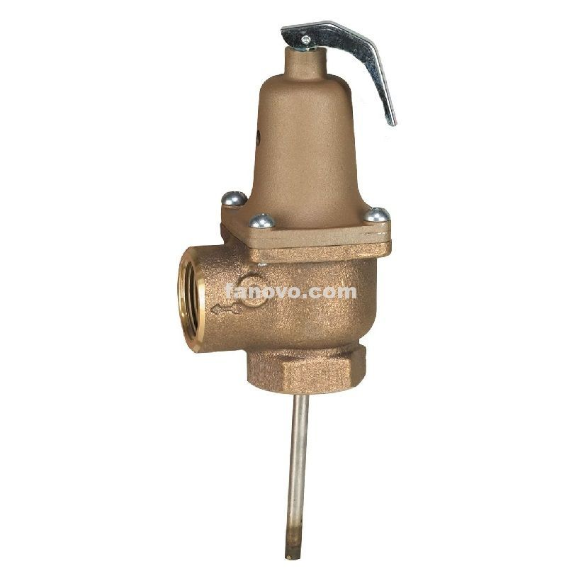 Fj0088 Lead Free Automatic Re Seating Temperature And Pressure Relief Valves Fanovo Industries In 2020 Relief Valve Water Storage Tanks Valve
