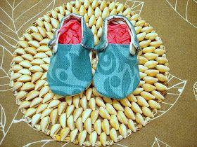 Reconvertir un bolso de mamá en unos zapatos de bebé