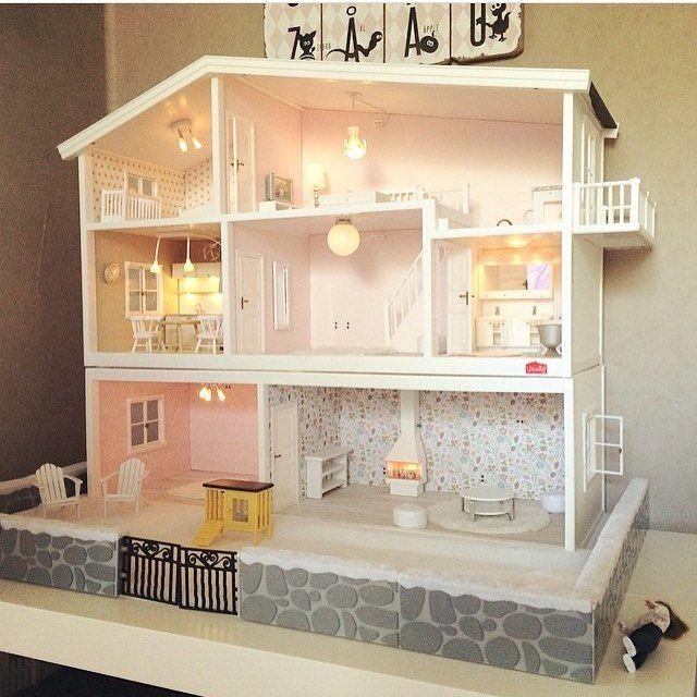 Pingl par in s cornejo barrera sur a jugar pinterest poup e meubles maison de - Plan de maison de barbie ...