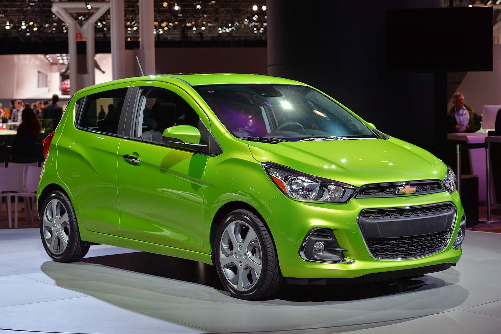 2016 chevy spark is debuting a more mature look