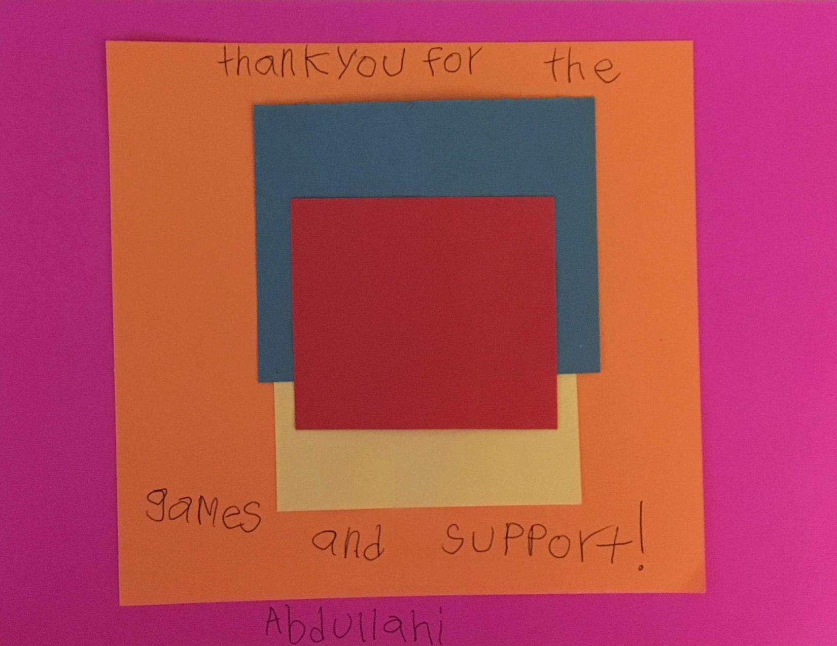 Classroom Thank You Note Idea Help Your Students Say Thanks With