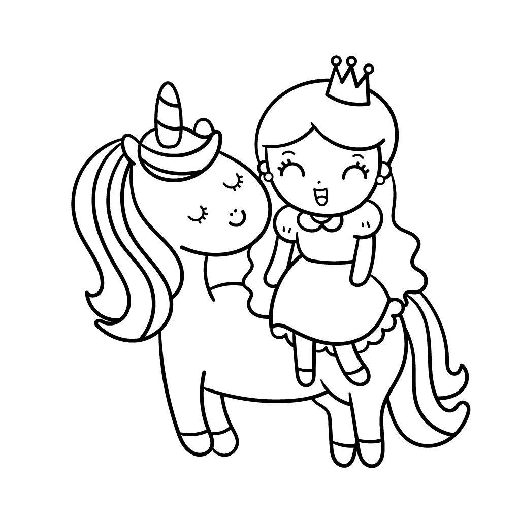 37+ Cute pink fluffy unicorn rainbow unicorn unicorn coloring pages trends