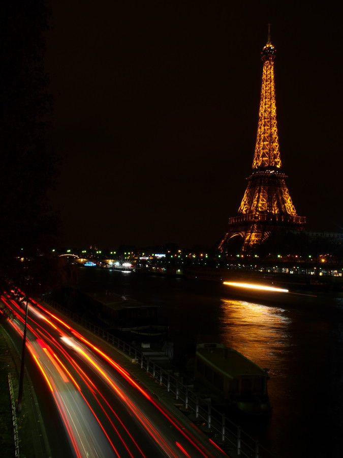 Paris at Night by Patrick Rock on 500px