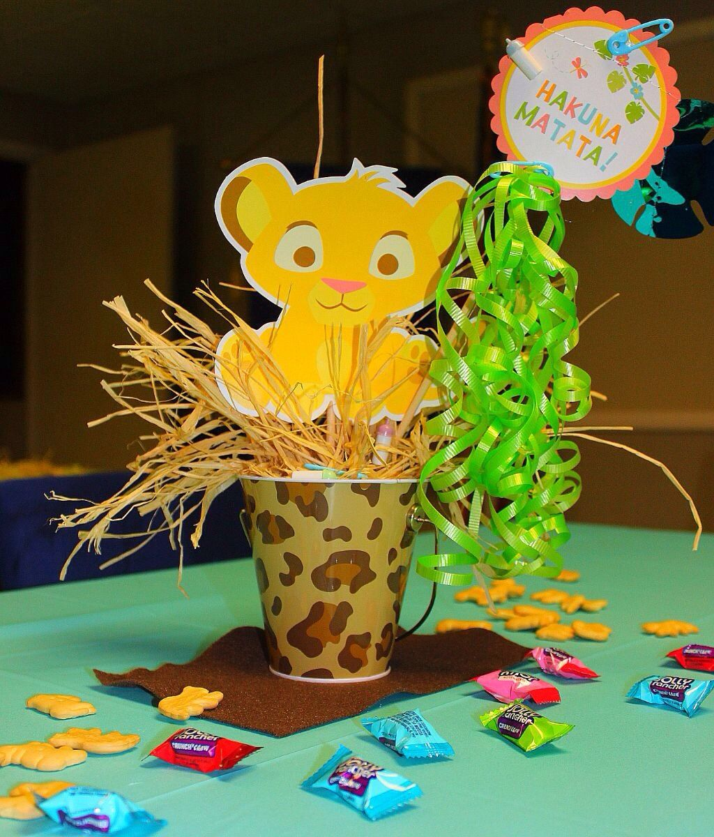 Elegant Hakuna Matata (lion King Baby Shower)