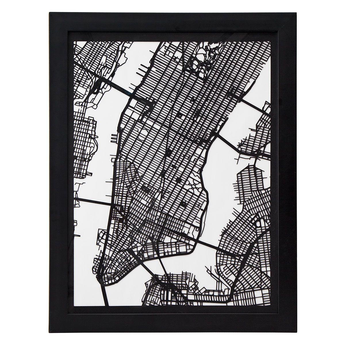CUT MAPS Papercut Houston Los Angeles Boston Denver Chicago - Los angeles map wallpaper