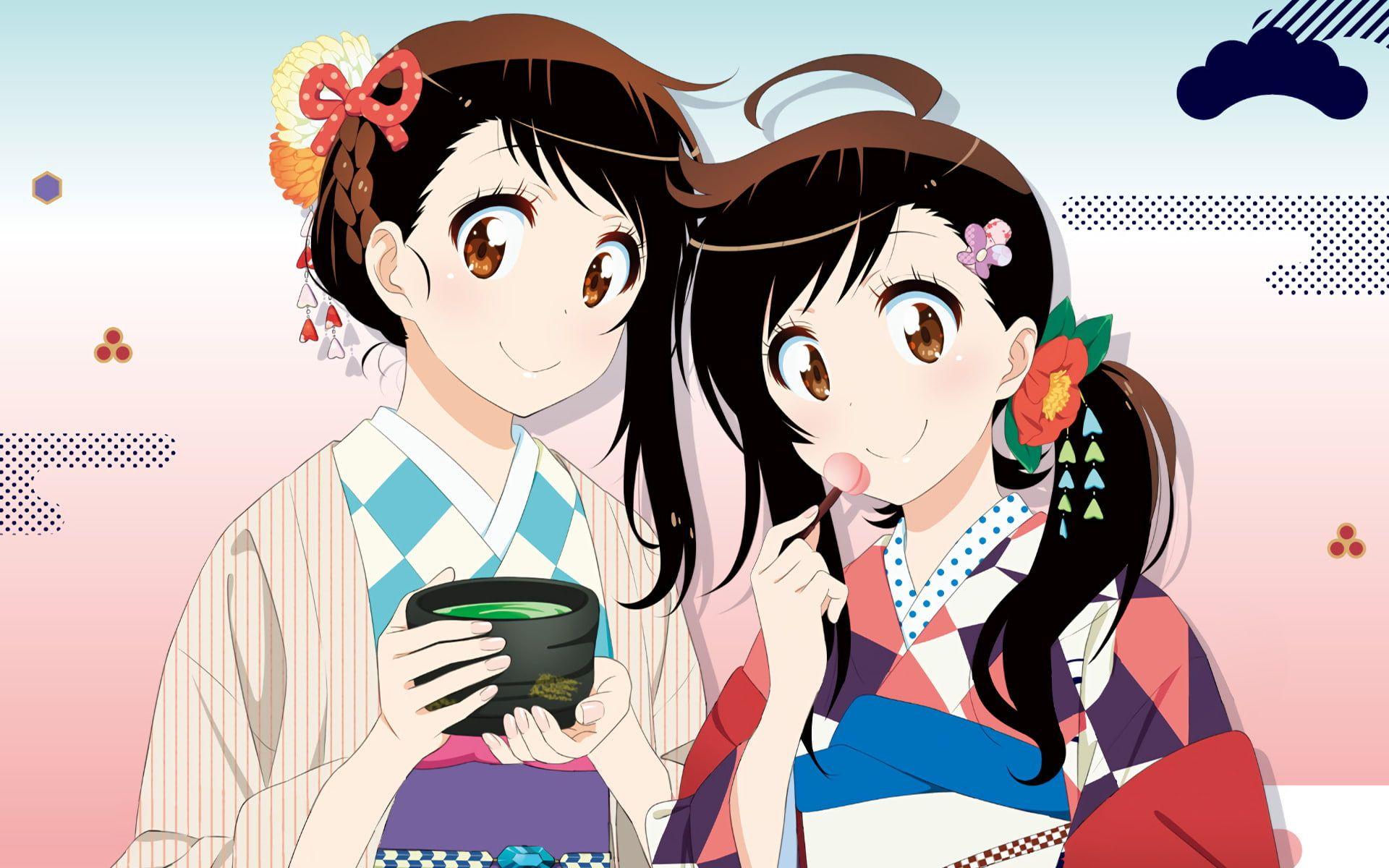 Anime Nisekoi Haru Onodera Kosaki Onodera 1080P