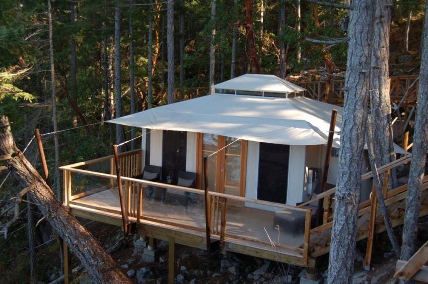 Treetop tenting in BC! & Treetop tenting in BC! | wanderlust. | Pinterest | Tree houses ...