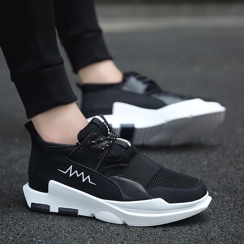 flat sole running shoes