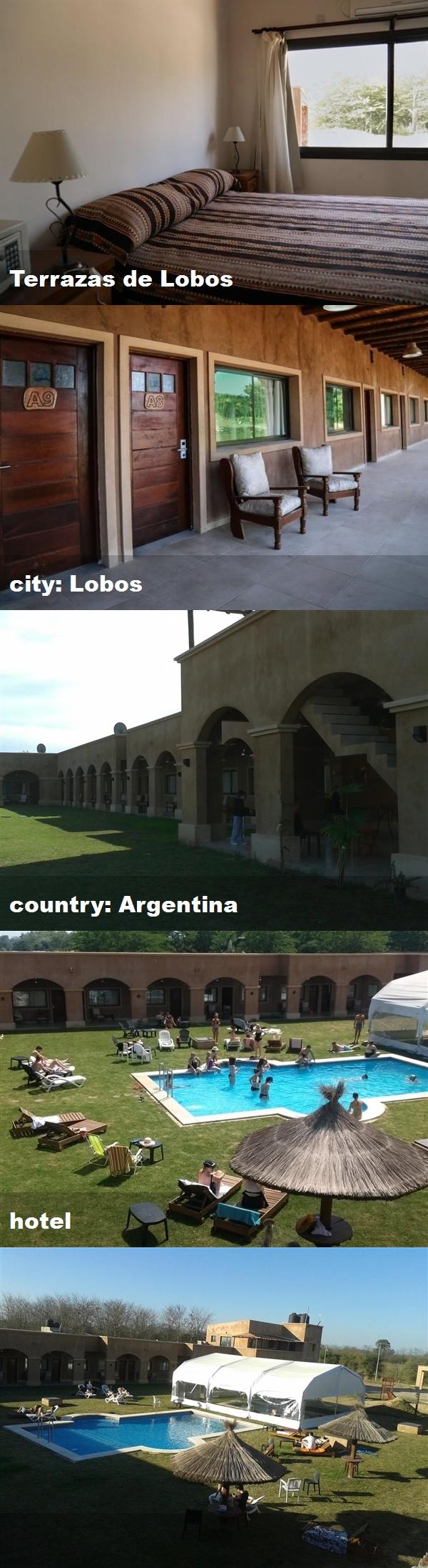 Terrazas De Lobos City Lobos Country Argentina Hotel