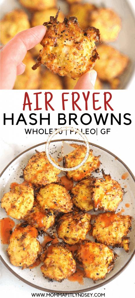 Air Fryer Hash Browns in 2020 Air fryer recipes healthy