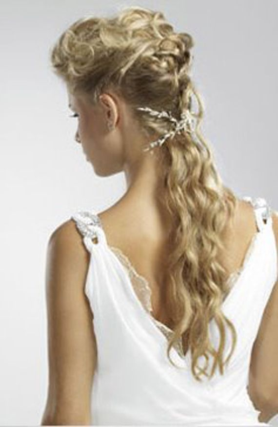 Grecian Goddess Wedding Hairstyles 2012 Jpeg 570 875 Pixels Greek Hair Grecian Hairstyles Greek Goddess Hairstyles
