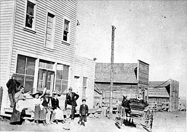 Tieton Post Office In 1907 Yakima Valley Yakima Post Office