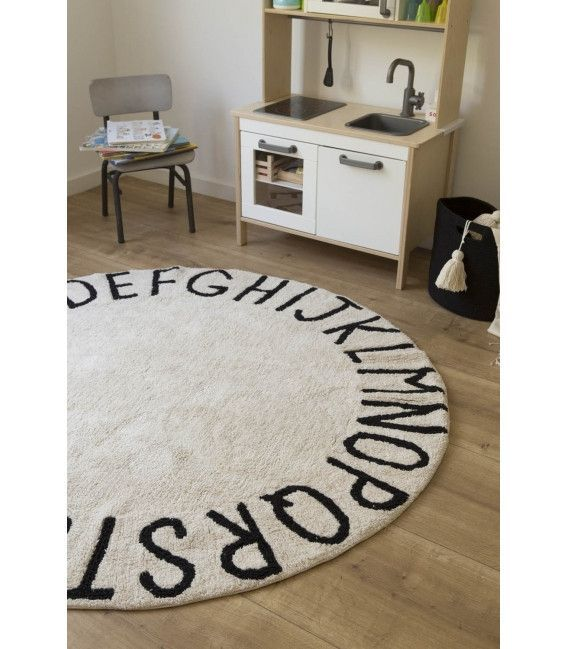 Round Abc Rug With Images Playroom Rug Washable Rugs Kids Playroom