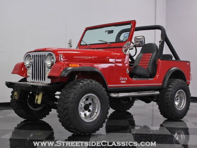 1983 jeep cj7 for sale in charlotte north carolina classics used classic. Black Bedroom Furniture Sets. Home Design Ideas