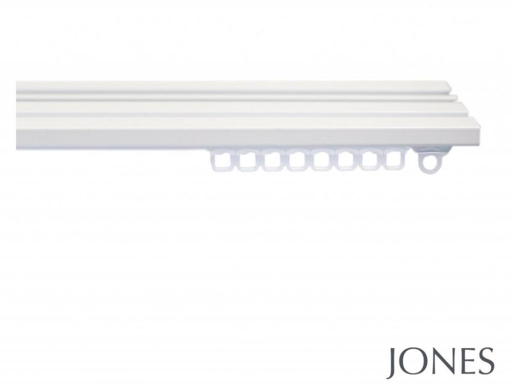Jones Aluminium Triple Curtain Track Hand Drawn Curtain Track
