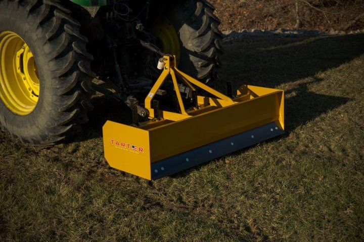 Tarter 6' Box Blade - BB6 ImplementsandMore com | Implements