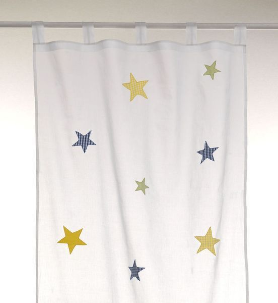 Kinderzimmer Vorhang Stars boys von bambiente auf DaWanda.com ...