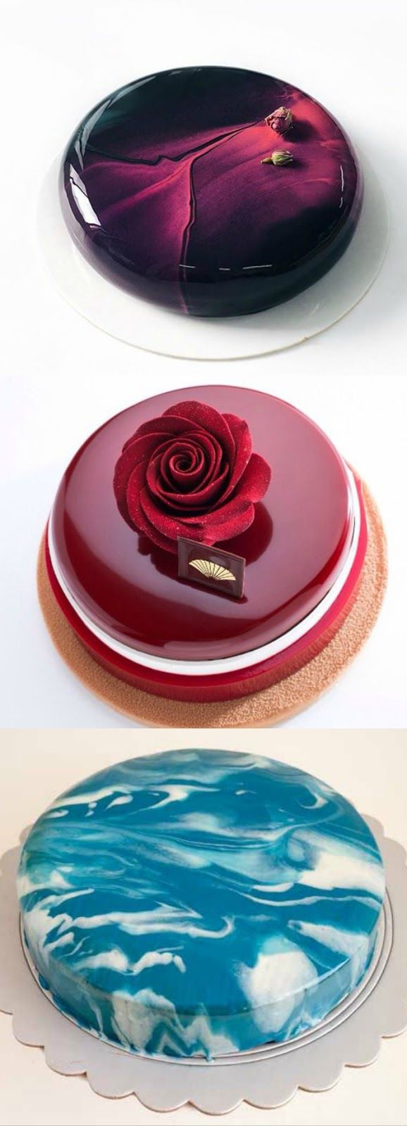 mirror glazed cake perfection tort k pinterest p tisserie gateau miroir et dessert. Black Bedroom Furniture Sets. Home Design Ideas