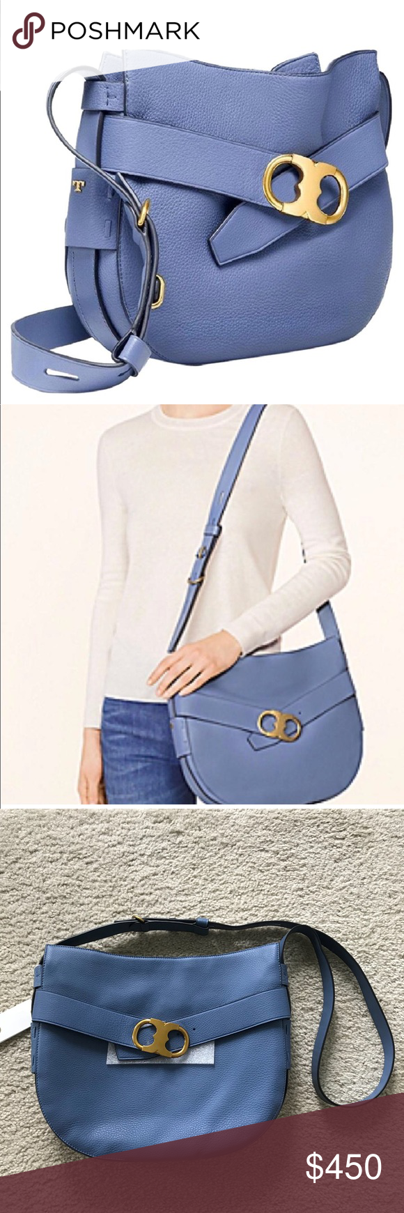 22ba9091a14 Spotted while shopping on Poshmark  Tory Burch Gemini Link Shoulder Bag!   poshmark  fashion  shopping  style  Tory Burch  Handbags